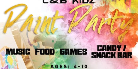 C&B Kidz Paint Party! tickets