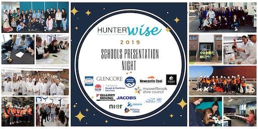 HunterWiSE Schools Presentation Night