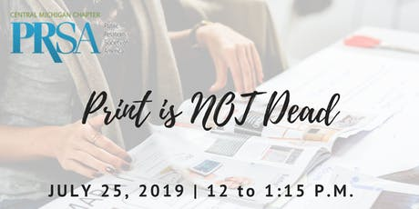 Print is NOT Dead! tickets