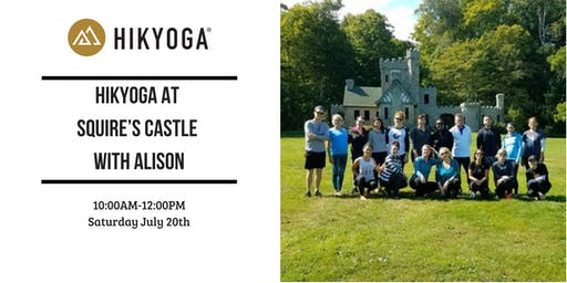 Hikyoga at Squires Castle with Alison