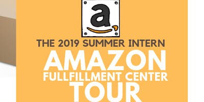 Amazon Fulfillment Center Intern and IISE Member Tour