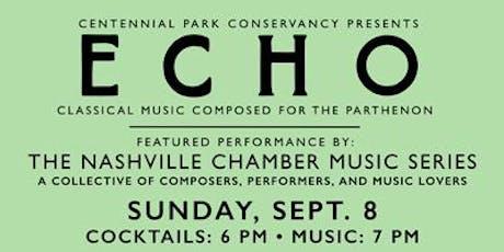 ECHO: Nashville Chamber Music Society - String Quartets tickets