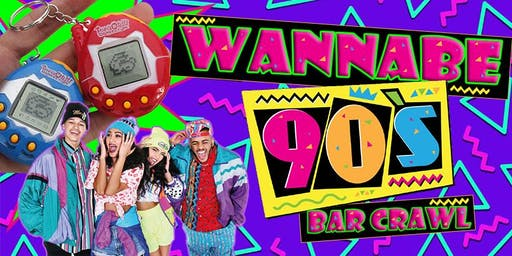 Wanna Be 90s Bar Crawl - Downtown Norfolk