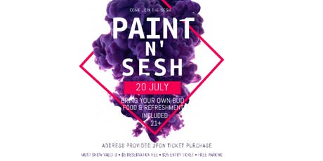 PAINT N' SESH tickets