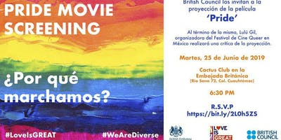 PRIDE Moovie Screening: ¿Por qué marchamos?