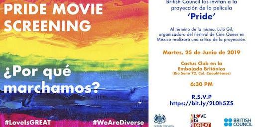 PRIDE Moovie Screening: ¿Por qué marchamos?