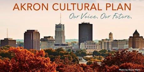 Access Akron: Cultural Plan Meet-Up tickets