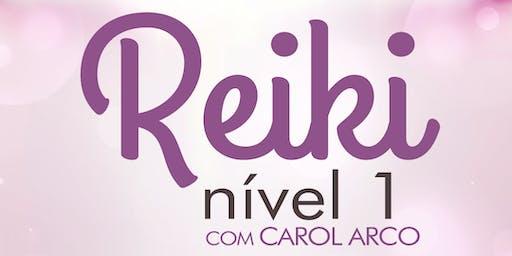 Curso de REIKI N´IVEL 1 em portugês