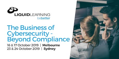 The Business of Cybersecurity - Beyond Compliance tickets