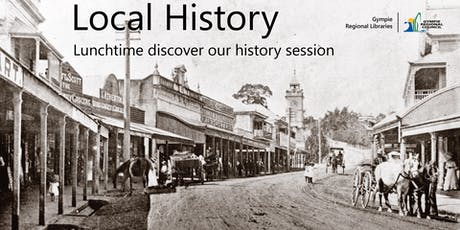 Local History Talk - Pubs of Gympie tickets