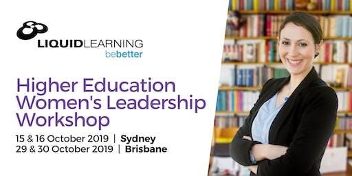 Higher Education Women's Leadership Workshop