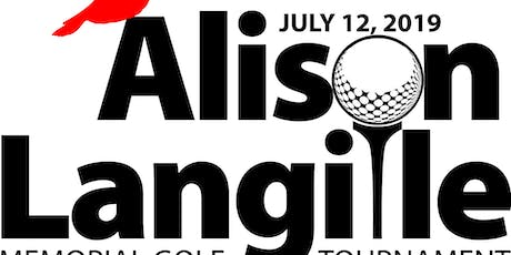 Alison Langille Memorial Golf Tournament 2019 tickets