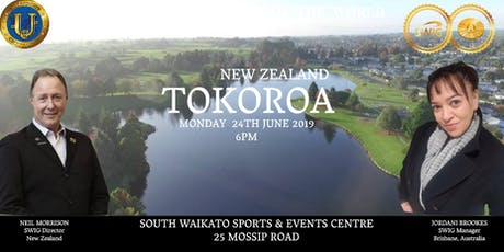SWIG TOKOROA ~ New Economic Evolution of the World tickets