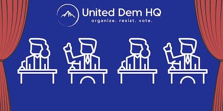 Untied Dem HQ Debate Watch Party - Night One tickets