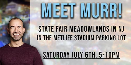 Meet Murr at the State Fair Meadowlands (NJ) by EJB Entertainment