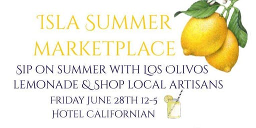 Local Artisan Summer Marketplace