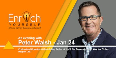 Enrich Yourself Speaker Series: PETER WALSH