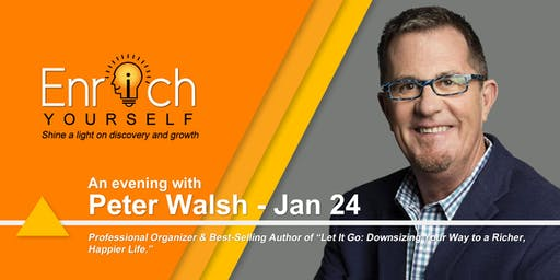 Enrich Yourself Speaker Series: PETER WALSH
