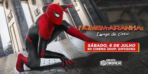 Sessão Cin3filia   Homem-Aranha: Longe de Casa