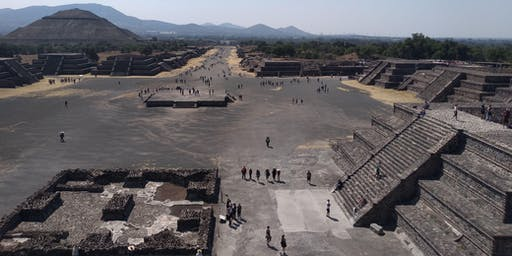 Teotihuacan 8 am a 1 pm