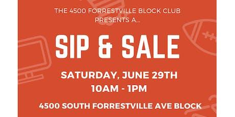 Bronzeville Sip & Sale tickets