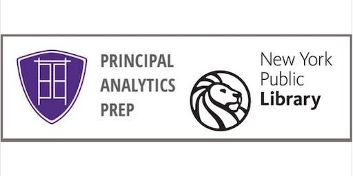 Aug 19 Data Analytics Resume Workshop: NYPL+Principal Analytics Prep