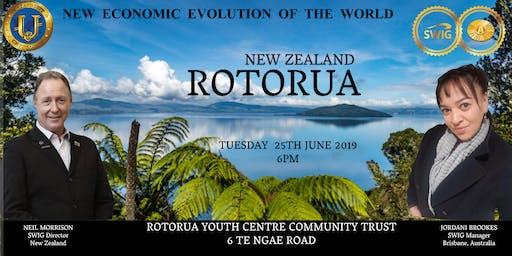 SWIG ROTORUA ~ New Economic Evolution of the World