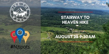 NJspots & Hike the World: Stairway to Heaven Hike tickets