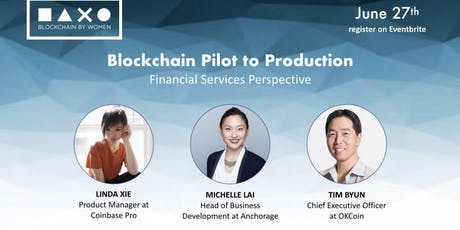 Blockchain Pilot to Production: A Financial Services Perspective tickets