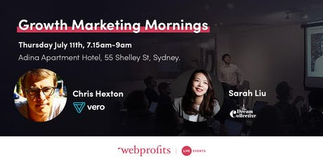 Growth Marketing Mornings: July (FREE - Must Register) tickets