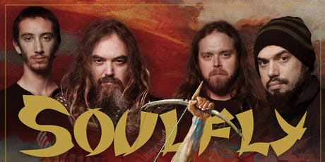 """SOULFLY """"Blood On The Street Tour"""" tickets"""