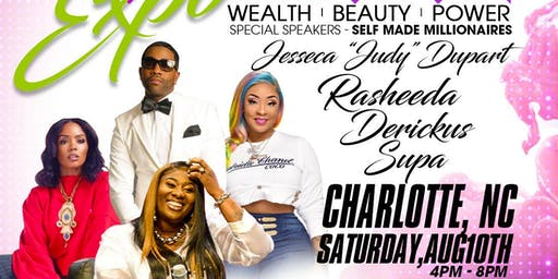 LIVE IN COLOR - Wealth|Beauty|Power w/ SupaCent, Derickus, Rasheeda & Judy