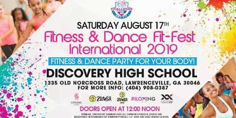 Fitness & Dance Fit - Fest International 2019 tickets