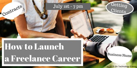 How to Launch a Freelance Career tickets