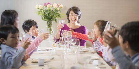 Level 1: Western Table Manners (ages 7-12) - American style tickets