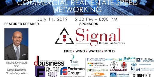 Commercial Real Estate Speed Networking