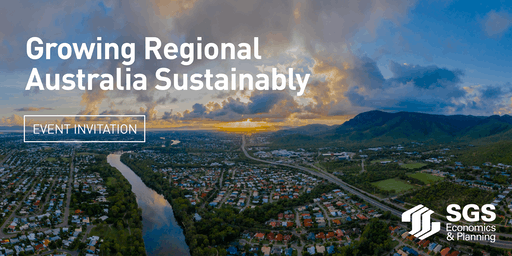Live Stream Event: Growing Regional Australia Sustainability