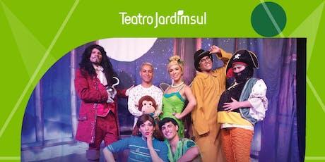 Mais de 50% de desconto! Peter Pan no Festival de Férias do Teatro Jardim Sul ingressos