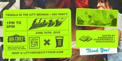 TEQUILA IN THE CITY BRUNCH + DAY PARTY - BIG CHIEF - JUNE 30