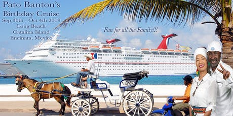 Pato Banton's Birthday Cruise tickets