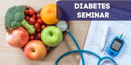 Reversing Diabetes: Free Seminar tickets