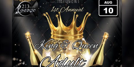 1st Annual King & Queen Adult Prom tickets
