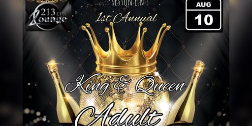 1st Annual King & Queen Adult Prom