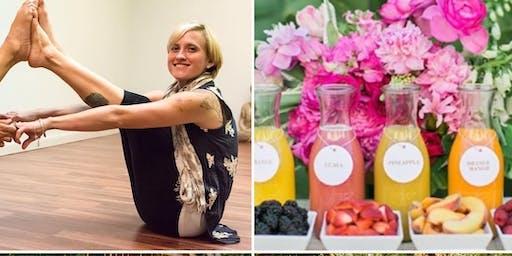 Yoga & 'Merica Mimosas!
