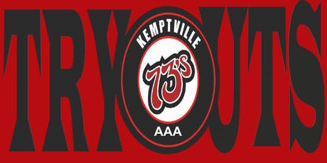Kemptville 73's Midget AAA 2019 Tryouts tickets