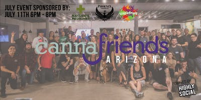 Cannafriends July Networking Event Powered by Highly Social