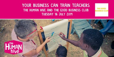 Your Business Can Train Teachers tickets
