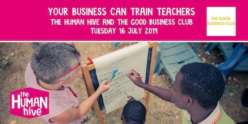 Your Business Can Train Teachers