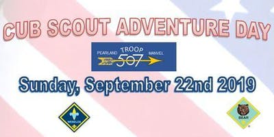 BSA Troop 507 Presents: Cubs Adventure Day