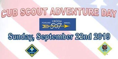 BSA Troop 507 Presents: Cubs Adventure Day